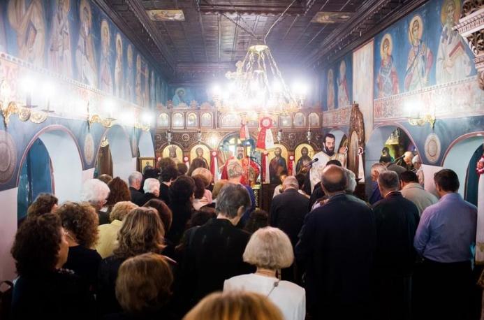 Με λαμπρότητα γιορτάστηκαν τα 100 χρόνια του ναού της Αγίας Βαρβάρας