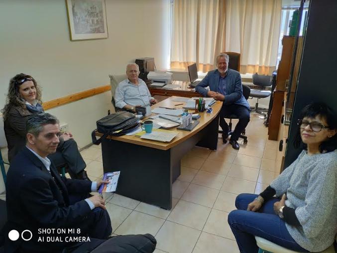Συνάντηση για θέματα εκπαίδευσης είχε ο Μιχάλης Αντωνόπουλος