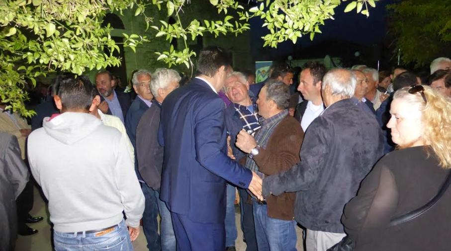 Στον Αριστομένη ο Γιώργος Αθανασόπουλος