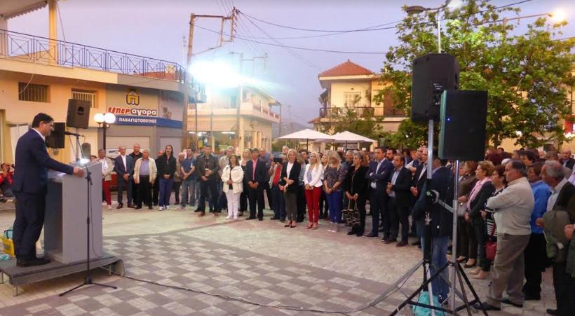"""Αθανασόπουλος: """"Ολοκληρωμένα έργα και παρεμβάσεις στην Αρχαία Μεσσήνη"""""""