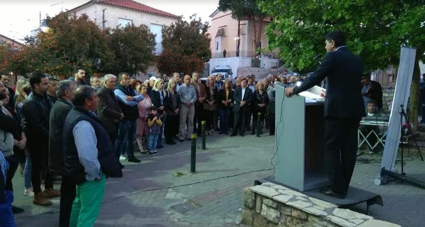 Στη Λογγά ο Γιώργος Αθανασόπουλος