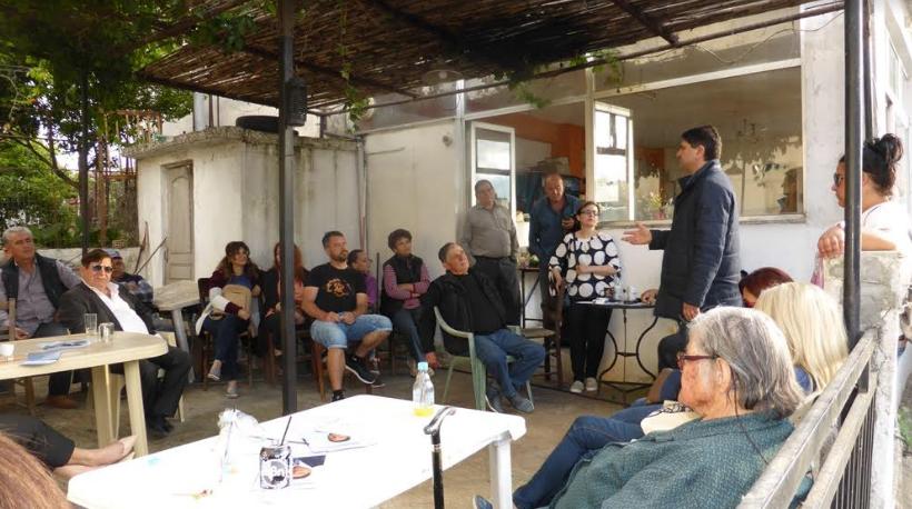 Συνάντηση Αθανασόπουλου-Δουμάνη στο Κεντρικό Λιμεναρχείο Καλαμάτας