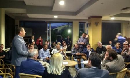 Με κατοίκους της Βέργας συναντήθηκε ο Βασιλόπουλος