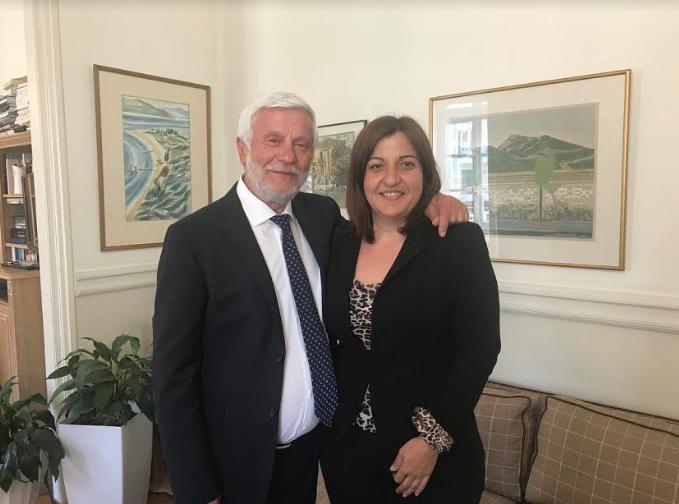 Την υποψηφιότητα της Δρίβα στη Λακωνία ανακοίνωσε ο Τατούλης