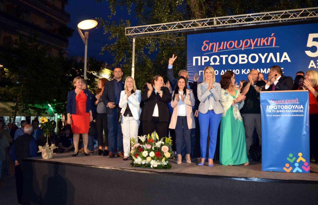 """Βασιλόπουλος: """"Ζητώ ισχυρή εντολή, ζητώ να ενώσουμε δυνάμεις"""""""