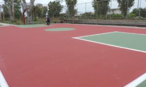 Ολοκληρώθηκε η πλαστικοποίηση 3 γηπέδων στον Δήμο Καλαμάτας