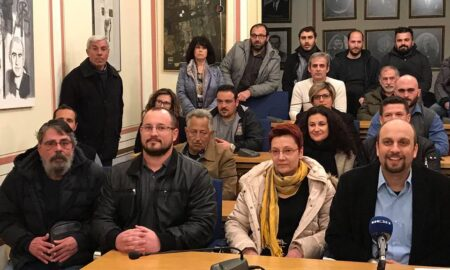 Δήλωση στήριξης Μούντανου σε Οικονομάκο και Λαϊκή Συσπείρωση