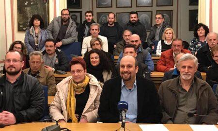 Νέους δημοτικούς συμβούλους ανακοίνωσε η Λαϊκή Συσπείρωση