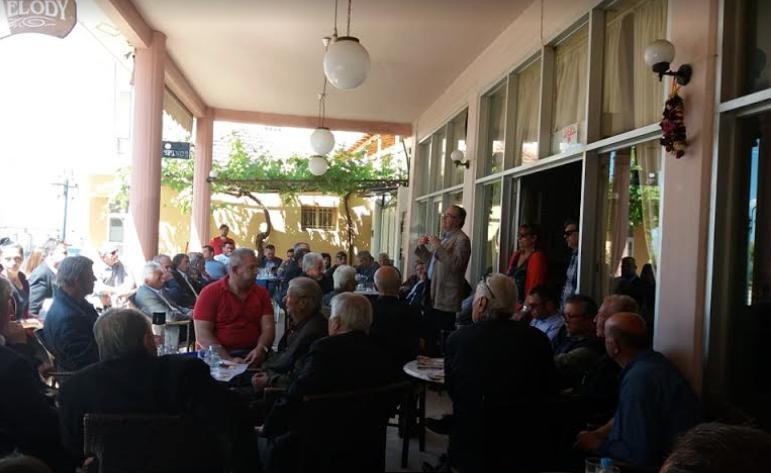 Επίσκεψη Κοσμόπουλου σε Πήδημα και Αρφαρά