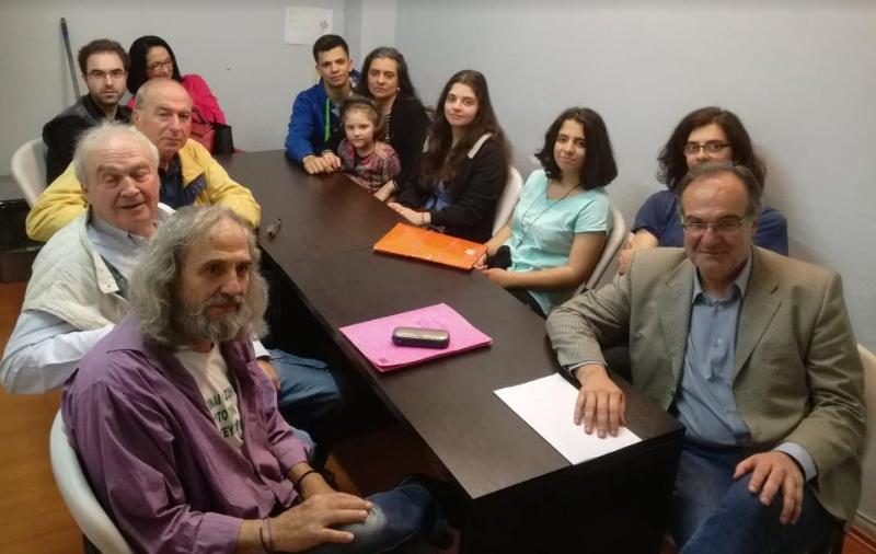 Με αντιπροσωπεία κατοίκων από το Ελαιοχώρι συναντήθηκε ο Βασίλης Κοσμόπουλος