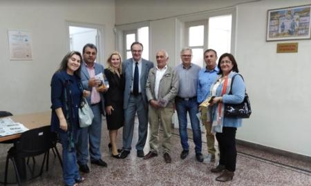Σε ΔΟΥ Καλαμάτας και Τελωνείο Κοσμόπουλος- Συνάντηση και με τον Φιλοζωικό Καλαμάτας
