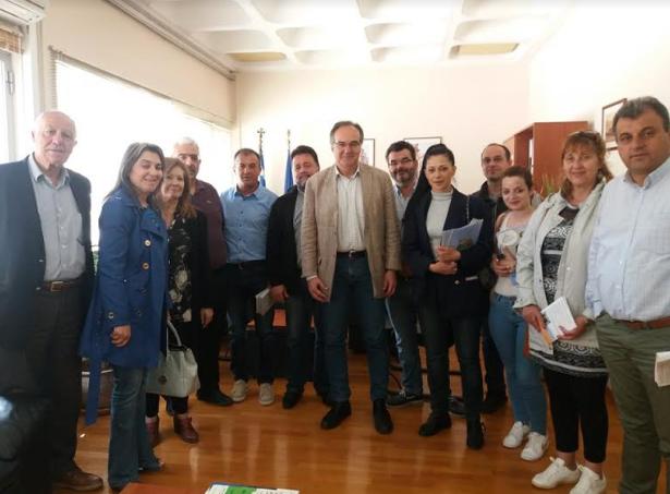 """Στο ΤΕΙ Πελοποννήσου Κοσμόπουλος και """"Καλαμάτα Μπροστά"""""""