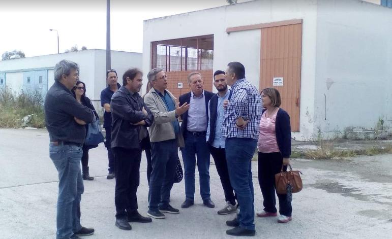 """Επίσκεψη Μάκαρη και """"Ανοιχτού Δήμου"""" σε Βιολογικό Καθαρισμό"""