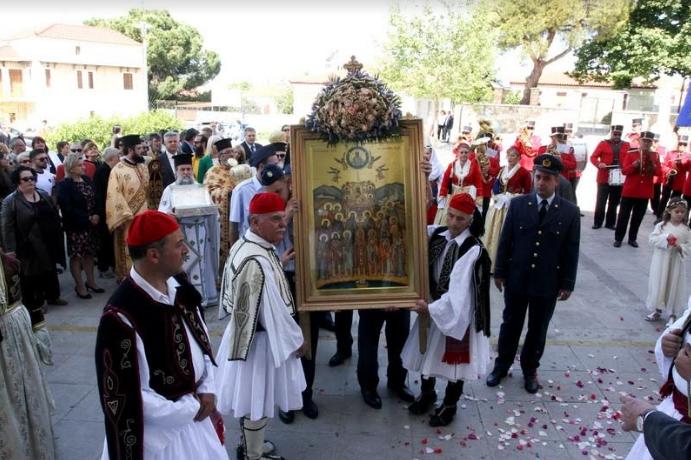 Λαμπρός ο εορτασμός της Σύναξης των εν Μεσσηνία Αγίων