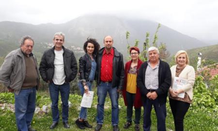 Περιοδεία στα χωριά του Ταϋγέτου από Οικονομάκο και Λαϊκή Συσπείρωση