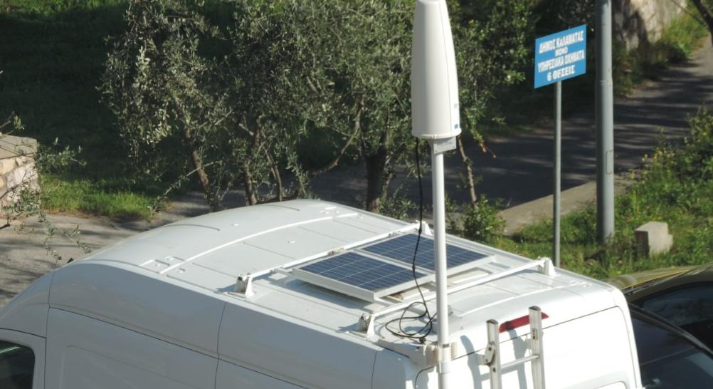 Νοσοκομείο Καλαμάτας: Το βανάκι θα καταγράφει για 2 εβδομάδες την ηλεκτρομαγνητική ακτινοβολία