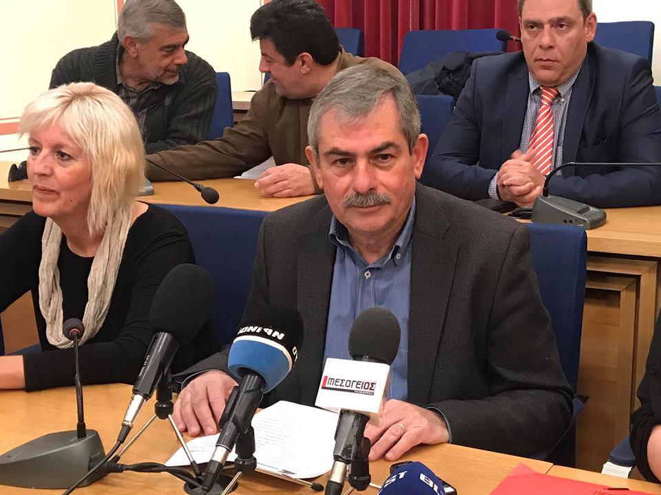Πετράκος: Δεν νομιμοποιούμε την αντισυνταγματική και αντιδημοκρατική συγκρότηση της Οικονομικής Επιτροπής
