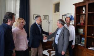 Επίσκεψη Πετράκου στο Επιμελητήριο Μεσσηνίας