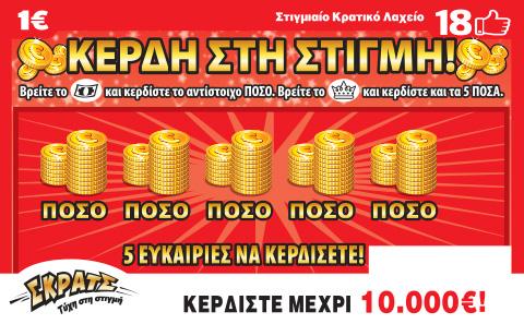 ΣΚΡΑΤΣ:Μοίρασε κέρδη 3.133.857 ευρώ την προηγούμενη εβδομάδα
