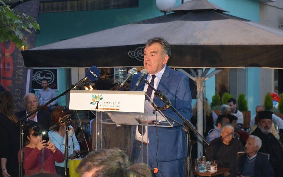 Στη Λογγά η προεκλογική ομιλία του Γιώργου Τσώνη