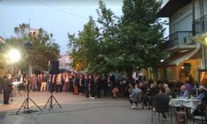 Προεκλογική ομιλία Τσώνη στο Χατζή