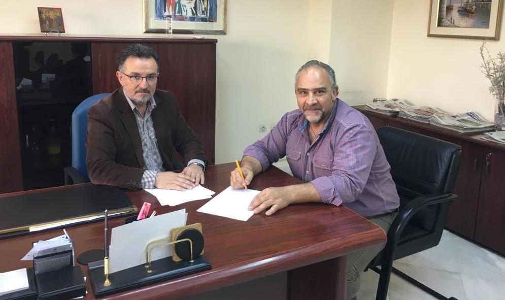 Υπογράφηκε η σύμβαση για το δίκτυο ομβρίων στο Νησάκι