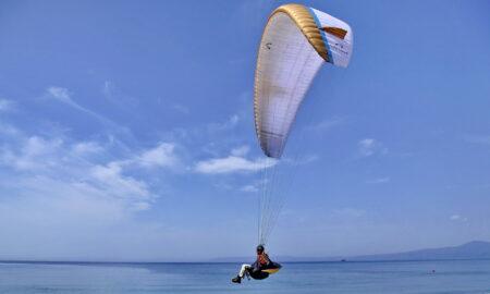 Ατύχημα με αλεξίπτωτο πλαγιάς στην παραλία της Καλαμάτας