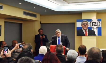 Ομιλία Ν.Μιχαλολιάκου σε εκδήλωση της Χρυσής Αυγής στην Καλαμάτα