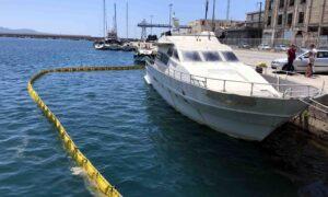 """Απομακρύνεται αύριο Κυριακή το κατασχεμένο σκάφος """"Αlamir Mustafa"""""""
