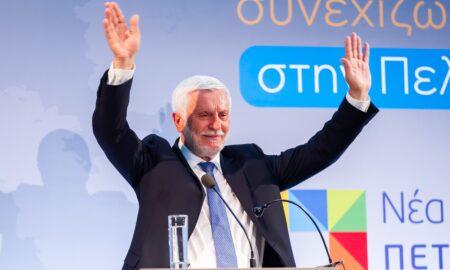 """Τατούλης: """"Σήμερα η νίκη μας είναι νίκη όλων των Πελοποννησίων"""""""