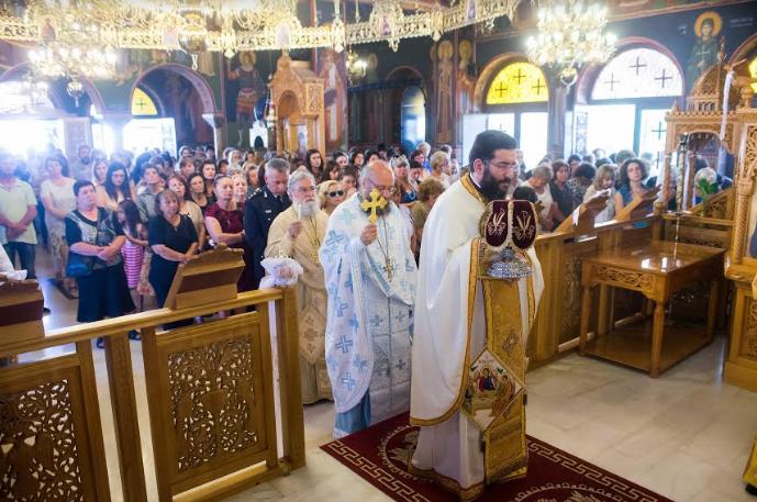 Με λαμπρότητα η εορτή του Αγίου Πνεύματος στην Καλαμάτα