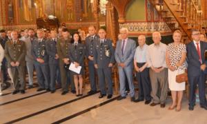 Ημέρα Τιμής των Αποστράτων της Ελληνικής Αστυνομίας-Τιμητική πλακέτα στον Αξιωτόπουλο
