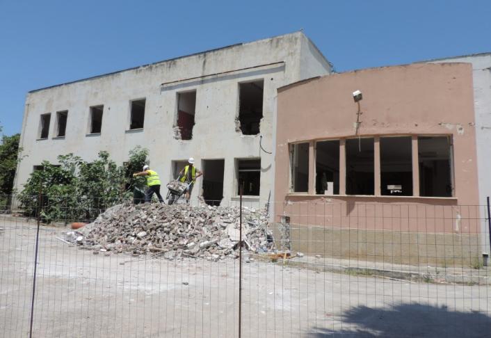 Συνεχίζονται οι εργασίες για το νέο κτήριο της ΔΕΥΑΚ