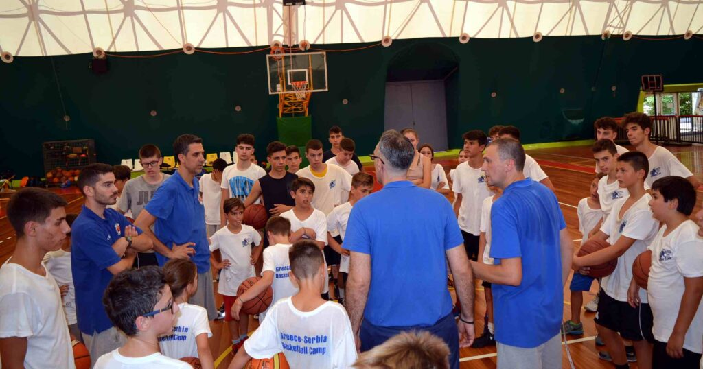 Kalamata BC: Ξεκίνησε το 3ο summer camp με τον Νίκο Χατζή και Σέρβους προπονητές