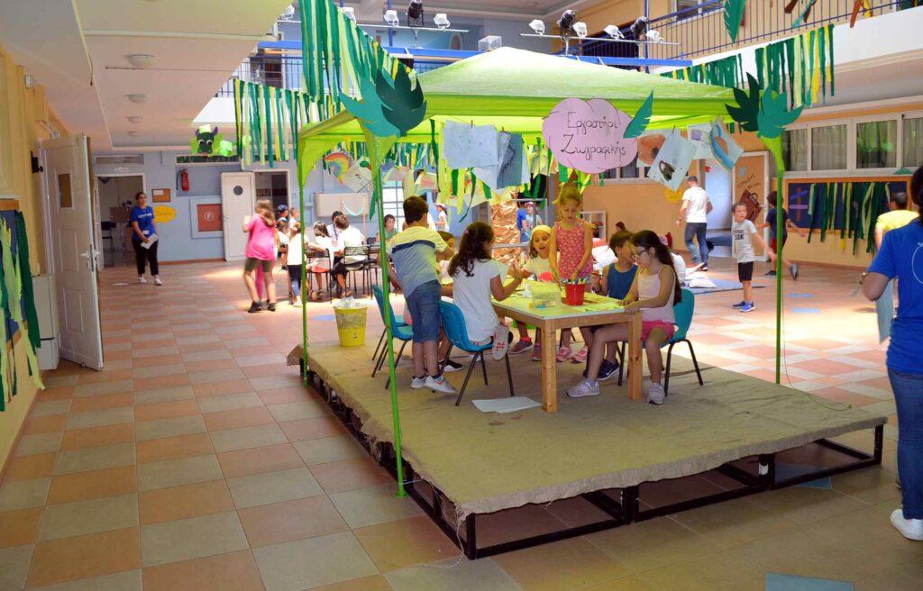 Eκπαιδευτήρια Μπουγά: Η χαρά του παιδιού στο Summer Camp του σχολείου!