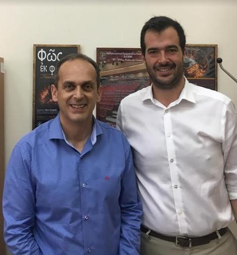 Συνάντηση Γερονικολού-Ζαχαριά στο Πανεπιστήμιο Πελοποννήσου