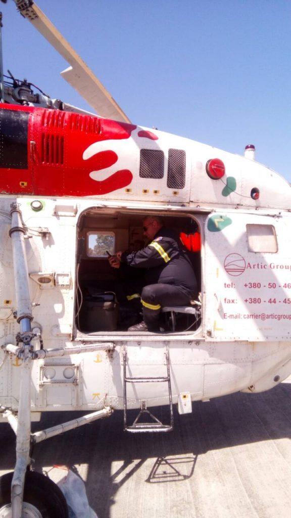 Έρχεται σήμερα το ουκρανικό πυροσβεστικό ελικόπτερο KAMOV 32 στο Αεροδρόμιο Καλαμάτας