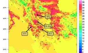 Έρχεται μίνι καύσωνας από την Κυριακή και στη Μεσσηνία