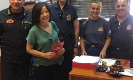 Κοζομπόλη: Επίσκεψη σε Πυροσβεστική, Λιμεναρχείο Καλαμάτας και Αστυνομική Διεύθυνση Μεσσηνίας