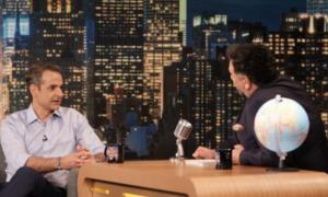 """Μητσοτάκης: Στο """"The 2Night Show"""" του Γρηγόρη Αρναούτογλου"""