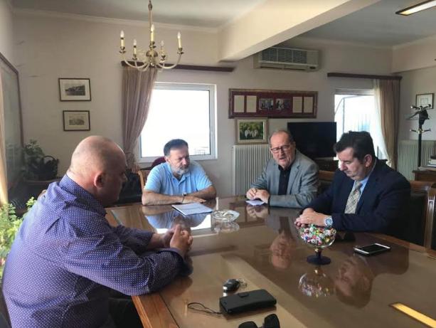 Eπισκέψεις σε αντιπεριφερειάρχες και δημάρχους της Πελοποννήσου κάνει ο Νίκας