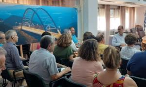 Επίσκεψη Νίκα στο Διοικητήριο και συνάντηση με στελέχη της Π.Ε. Μεσσηνίας