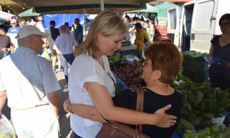 Διήμερη περιοδεία της Ντίντα σε χωριά της Μεσσηνίας