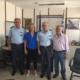 Ντίντα: Επίσκεψη σε Πυροσβεστική, Λιμεναρχείο Καλαμάτας και Αστυνομική Διεύθυνση Μεσσηνίας