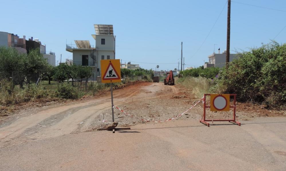 Οδός Λήμνου: 7μ. πλάτος ο νέος δρόμος-2 μέτρα τα πεζοδρόμια