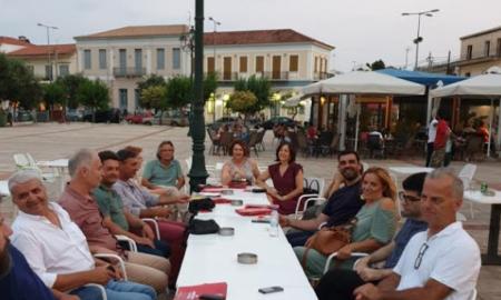 ΣΥΡΙΖΑ: Περιοδεία σε Φιλιατρά και Μαραθόπολη από τους υποψήφιους βουλευτές Μεσσηνίας