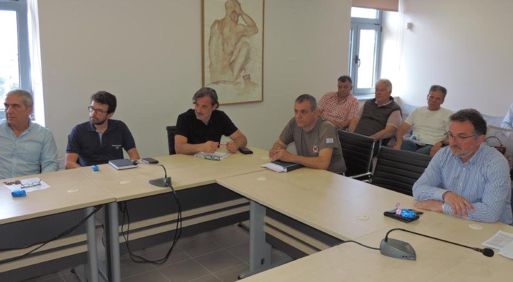 Σύσκεψη για τις 100 μέρες μέχρι τη λήξη της θητείας Νίκα-Επιτάχυνση έργου ζήτησε ο δήμαρχος