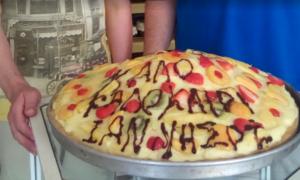 Τεράστια τούρτα 10 κιλών έφτιαξε ζαχαροπλάστης στη Μεσσήνη!