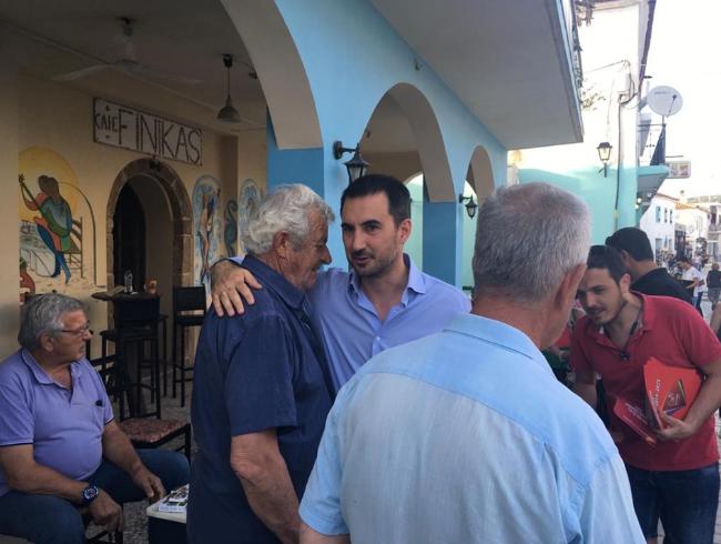 """""""Οργώνει"""" τη Μεσσηνία ο Χαρίτσης με κλιμάκιο του ΣΥΡΙΖΑ-Προοδευτική Συμμαχία"""