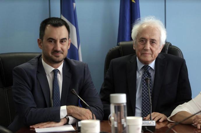 Τελετή Παράδοσης-Παραλαβής στο Υπουργείο Εσωτερικών: Ανέλαβε καθήκοντα ο Ρουπακιώτης